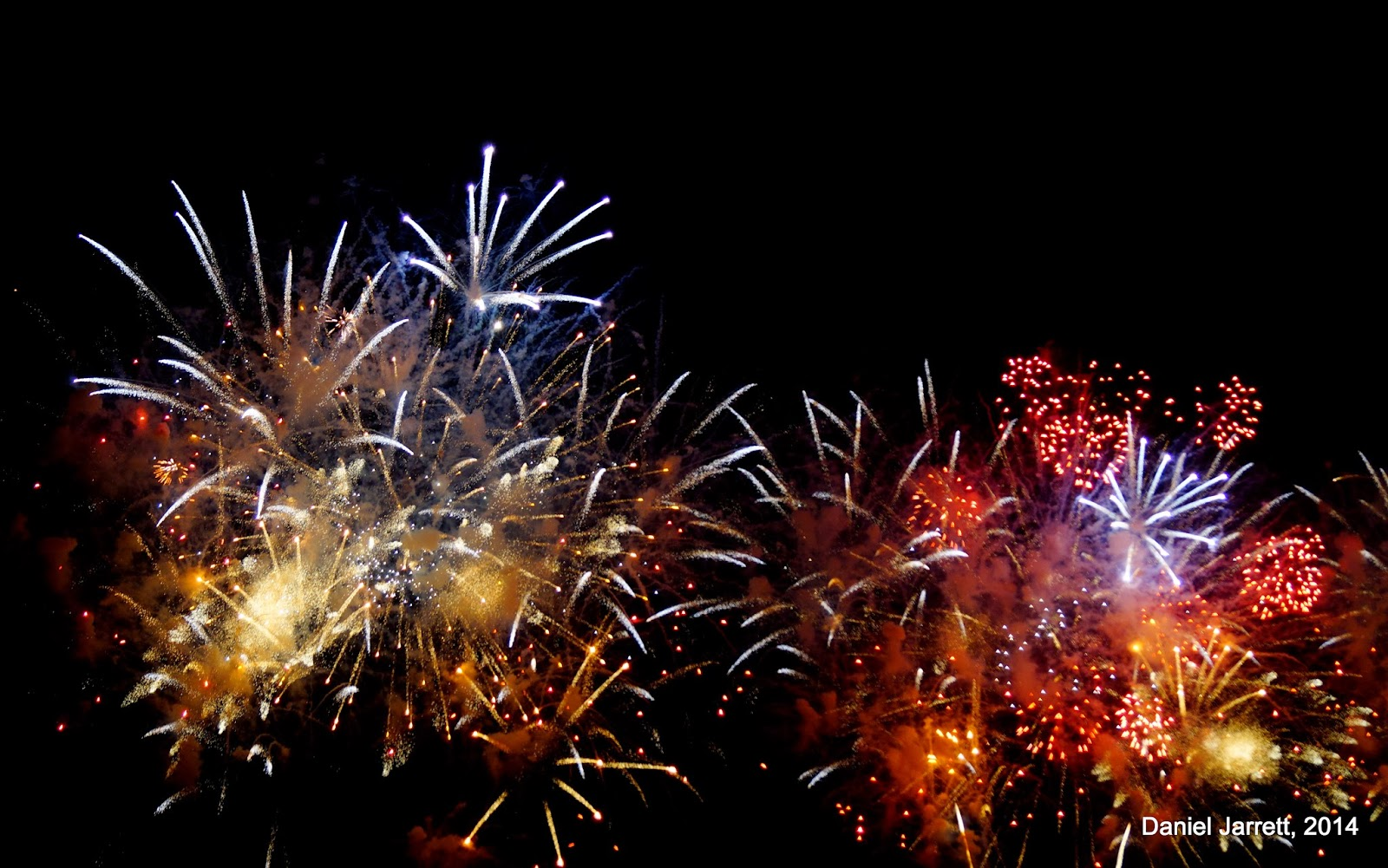 Chinese New Year Fireworks 2014 | Temples, Towers, and