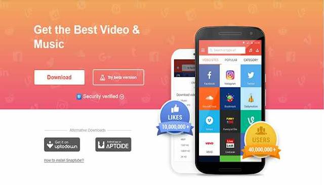 تطبيق Snaptube App