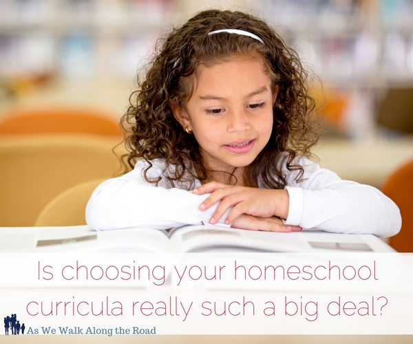 The importance of choosing the right homeschool curricula