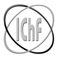 Logo Instytutu Chemi Fizycznej Polskiej Akademii Nauk