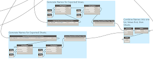 Dynamo:  Export Views and Sheets from Revit - Part 4