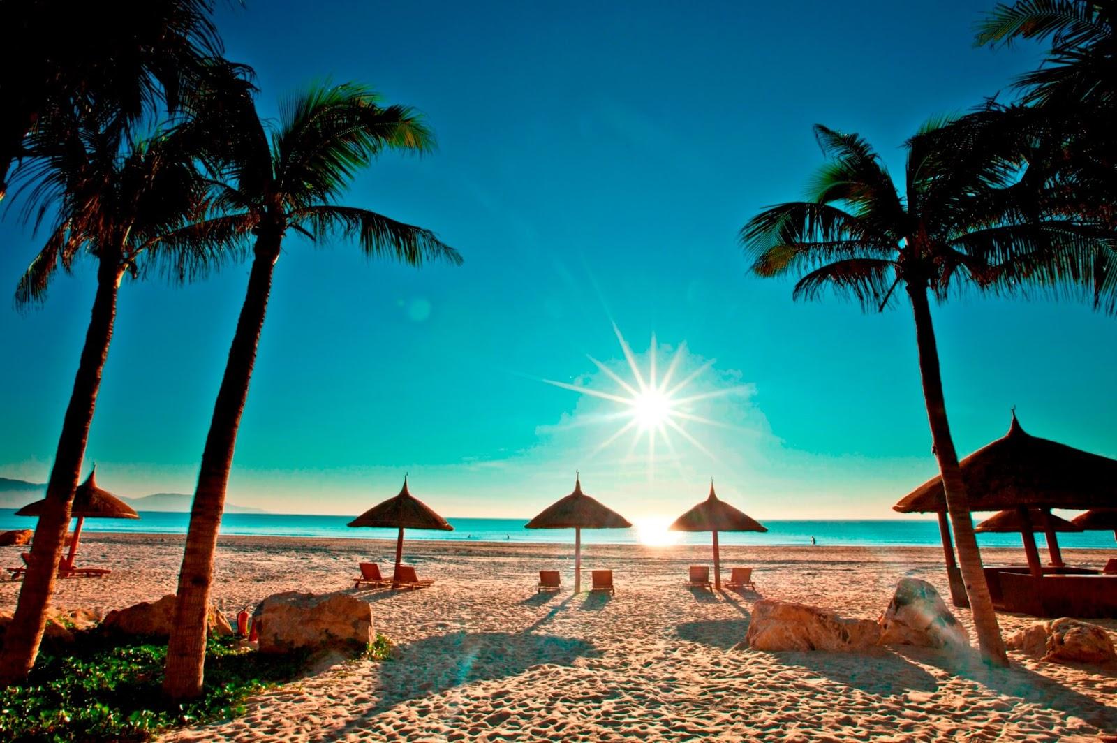 Bờ biển bãi dài Vinpearl Phú Quốc
