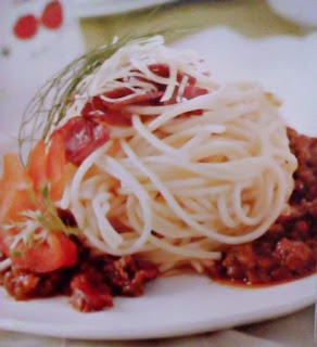 Gambar Resep Spageti Daging Cincang