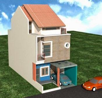 Desain Rumah Minimalis 2 Lantai Type 21/60 - Gambar Foto ...