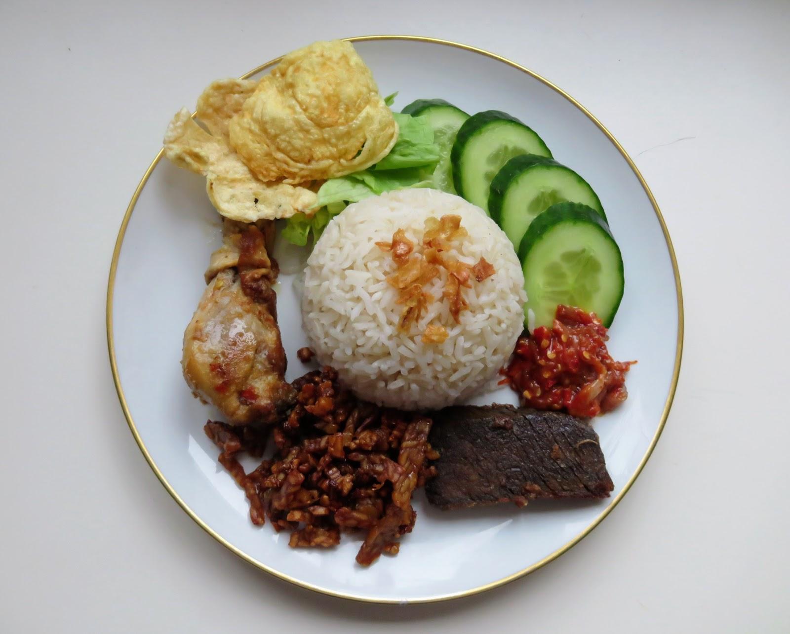 Rezept Nasi Uduk indonesisch
