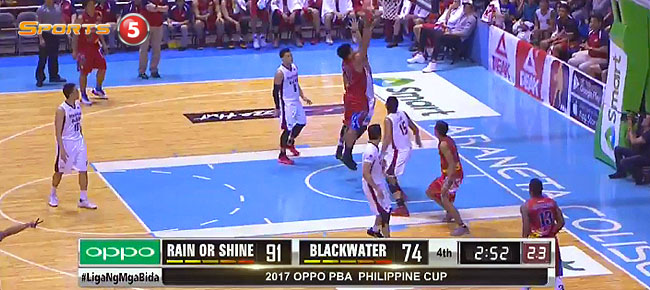 Rain or Shine eliminates Blackwater, 103-80 (REPLAY VIDEO) February 3