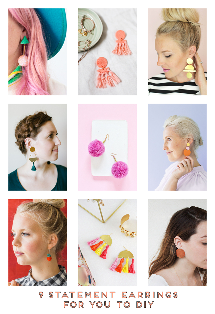 9 STATEMENT EARRINGS FOR YOU TO DIY.