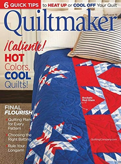 Featured in Quiltmaker Jul/Aug 2019