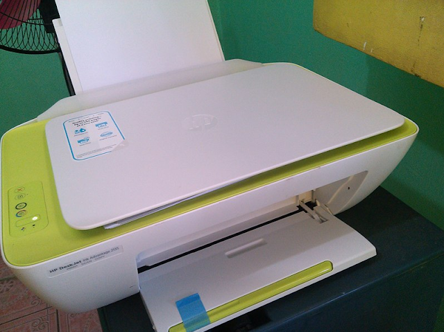 Cara Reset Printer HP ink Advantage 2135