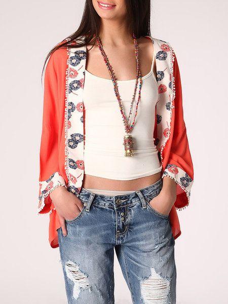 Floral kimonos, causal kimono by Q2, StyleWe