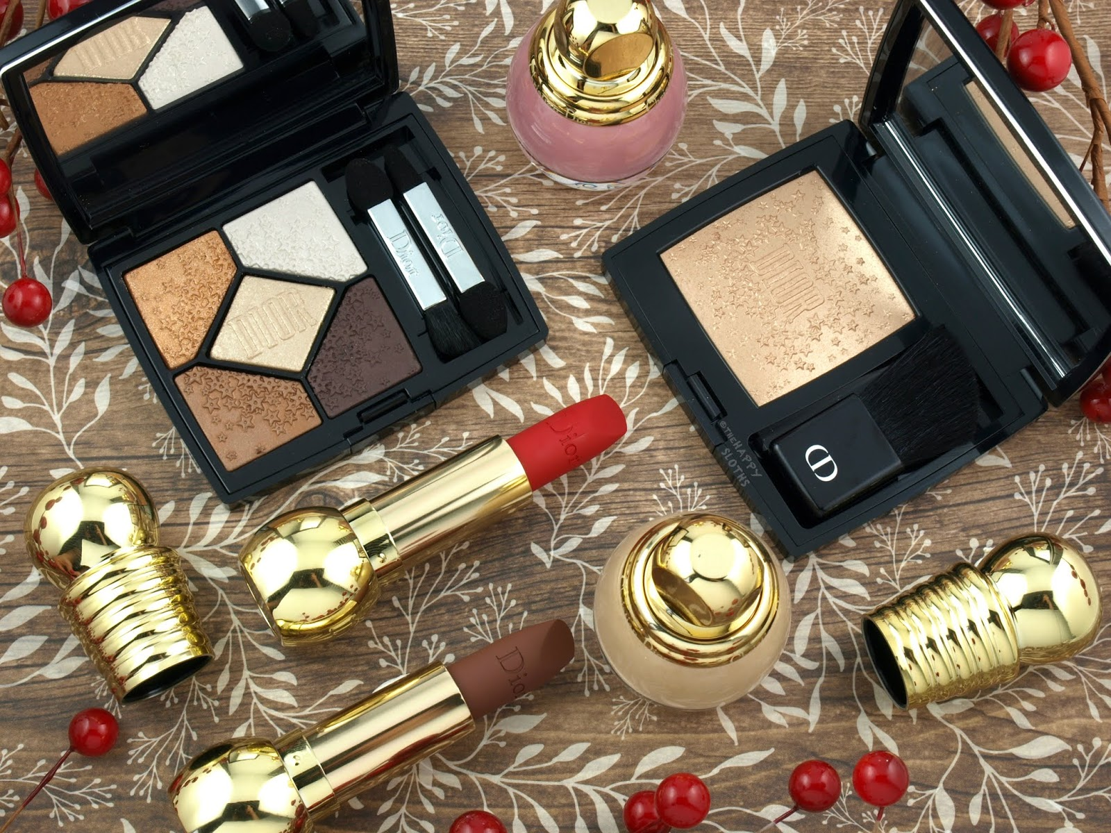Dior   Holiday 2018 Midnight Wish Collection: Review and Swatches