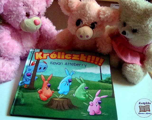 króliczki, książka dla dzieci, idealny prezent na dzień dziecka, prezent na urodziny, prezent na święta, co na Mikołaja, paczka na Mikołaja,