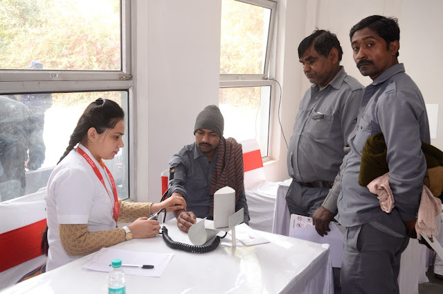 Drivers at theToyota conducted Health Check-up Camp in New Delh
