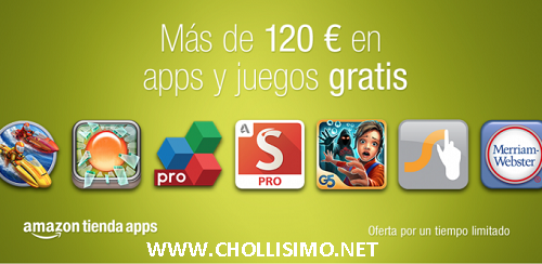 120€ EN APPS GRATIS AMAZON
