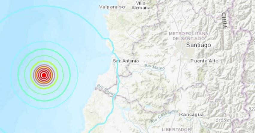 Temblor en Chile de Magnitud 5.7 y Alerta de Tsunami (Hoy Domingo 7 Abril 2019) Sismo - Terremoto - Epicentro - San Antonio - ONEMI - www.onemi.cl