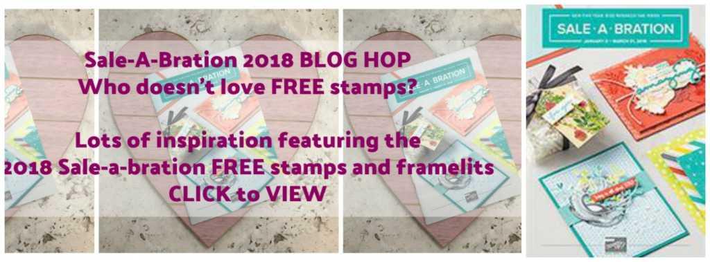 Craftyduckydoodah!: Stampin' Up! Sale-a-Bration 2018 Blog Hop