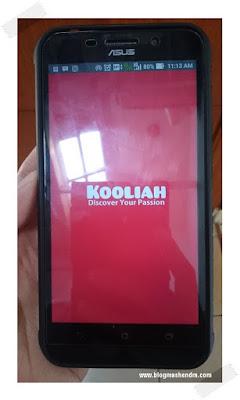 Aplikasi Kooliah di Smartphone Asus Zenfone Max - Blog Mas Hendra