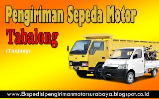 EKSPEDISI PENGIRIMAN MOTOR SURABAYA TABALONG