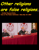 Image result for cardinal Raymond Burke voice of the family conference photo