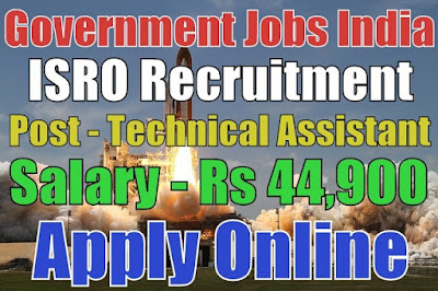 Indian Space Research Organisation ISRO Recruitment 2017 MCF