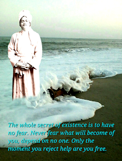 Swami Vivekananda photo quote on world