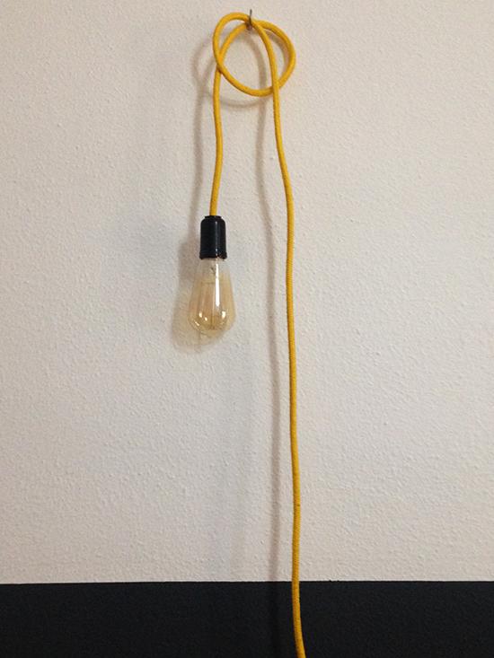 luminária com fio colorido, luminária, light, faça você mesmo, diy, a casa eh sua, acasaehsua