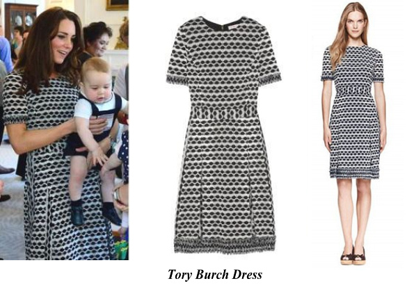 Duchess Of Cambridge's Tory Burch Dress
