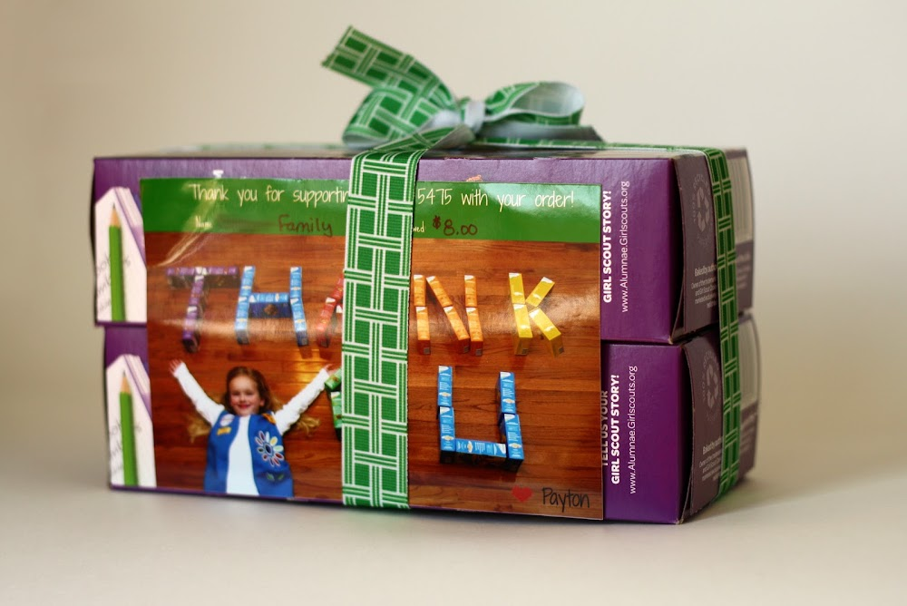 Girl Scout Personalized Cookie Box