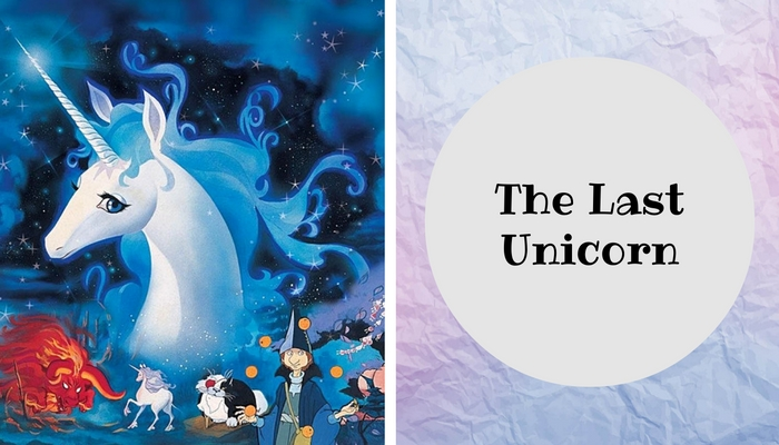 #anime #The #Last #Unicorn #movie