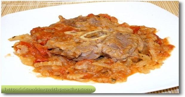 Stewed Veal Shanks Recipe