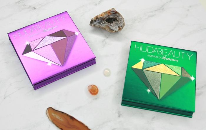 Huda Beauty Amethyst & Emerald Obsessions Palettes: 1st Impressions