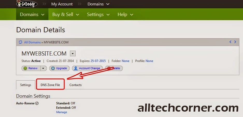 Set Up A Custom Domain With Godaddy In Blogger - A Step By Step Procedure