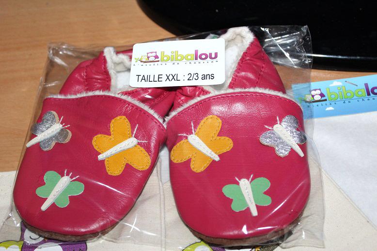 photos officielles 5c096 38ae0 Les chaussons en cuir souple Bibalou : l'écologie et la ...