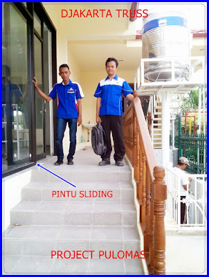 Proyek Pintu sliding pulomas Djakarta Truss