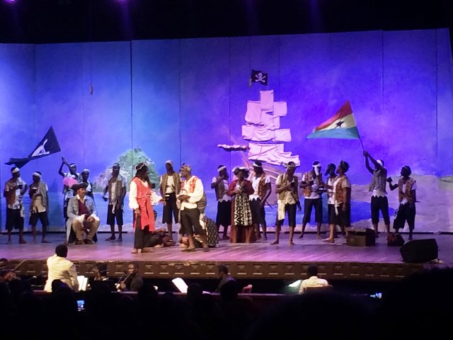 Old Achimotans thrill Akufo-Addo, others with 'The Pirate of Penzance' performance