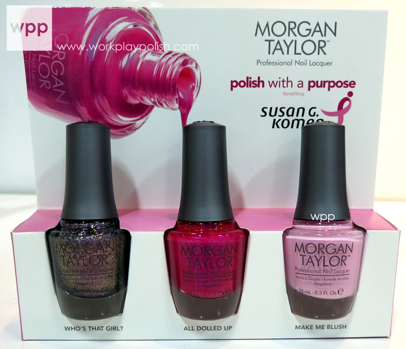 Morgan Taylor Breast Cancer Awareness Set 2013