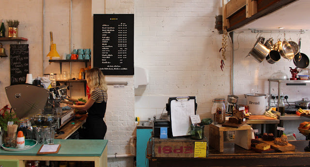 Cafes in East London