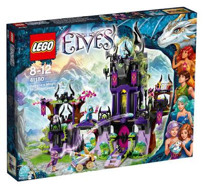 TOYS : JUGUETES - LEGO Elves  41180 El Castillo de Sombras Magicas de Ragana  Ragana's Magic Shadow Castle  Producto Oficial 2016 | Piezas: 1014 | Edad: 8-12 años  Comprar en Amazon España & buy Amazon USA