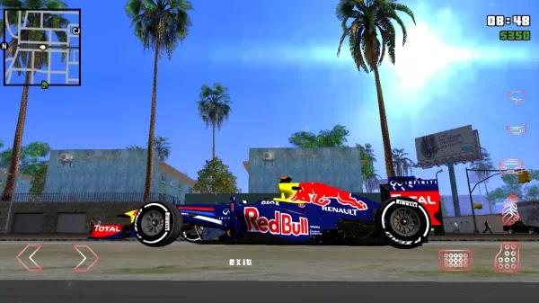 Kumpulan Mod MBIM Mobil Balap F1 Terbaik Bertexture Gambar Untuk GTA SA Android