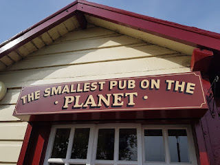 The Signal Box Inn - the Smallest Pub on the Planet