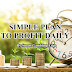 How to make profit daily easily?