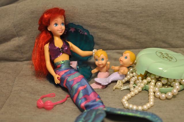 boneca Ariel customizada