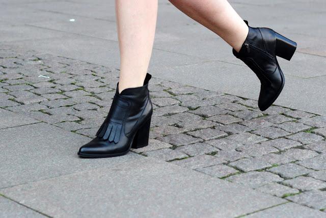 Black, booties, Stiefel, Stiefeletten, Peperosa,