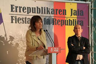 Acto por el Día de la II República celebrado por los socialistas de Barakaldo