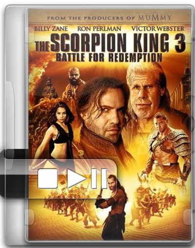 El Rey Escorpion 2012 DVDRip Español Latino