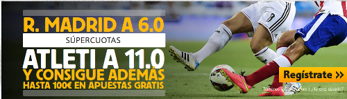 betfair Real Madrid vs Atletico super cuota 6 o 11 derbi champions 22 abril