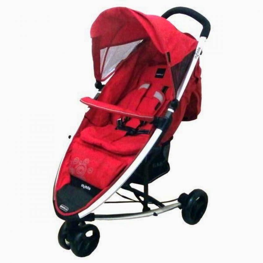 Sepeda bayi Roda Tiga Babyelle Infinite Red