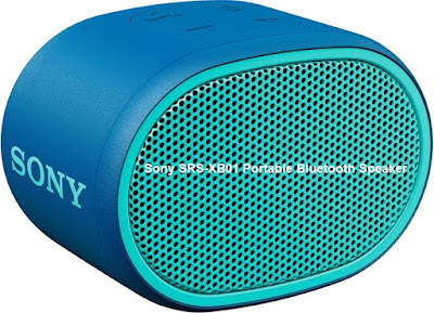 Sony SRS-XB01 Portable Bluetooth Speaker  | Up to 6 hours Battery Backup | Splash proof