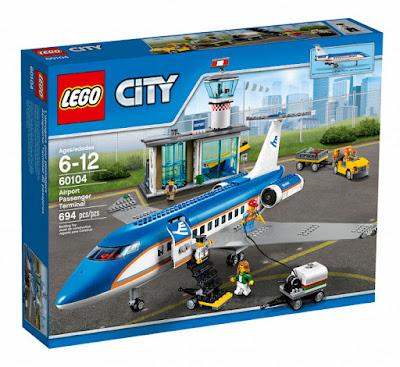 TOYS : JUGUETES - LEGO City 60104 Aeropuerto : Terminal de pasajeros Airport Passenger Terminal Producto Oficial 2016 | Piezas: 694 | Edad: 6-12 años Comprar en Amazon España & buy Amazon USA