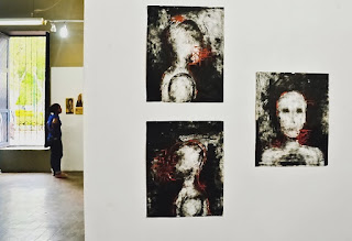 Ángel Solano, Presencia, 60 x 80 cm, Pintura sobre madera,2016